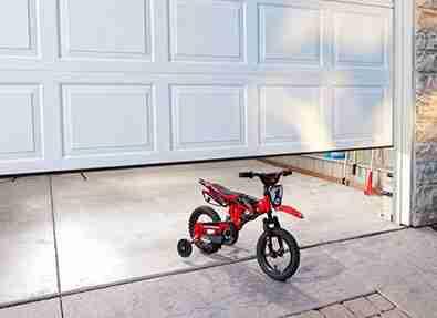 garage door obstruction.