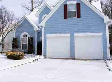 weather effects garage door